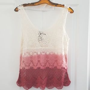 NWT. Hollister knit tank top